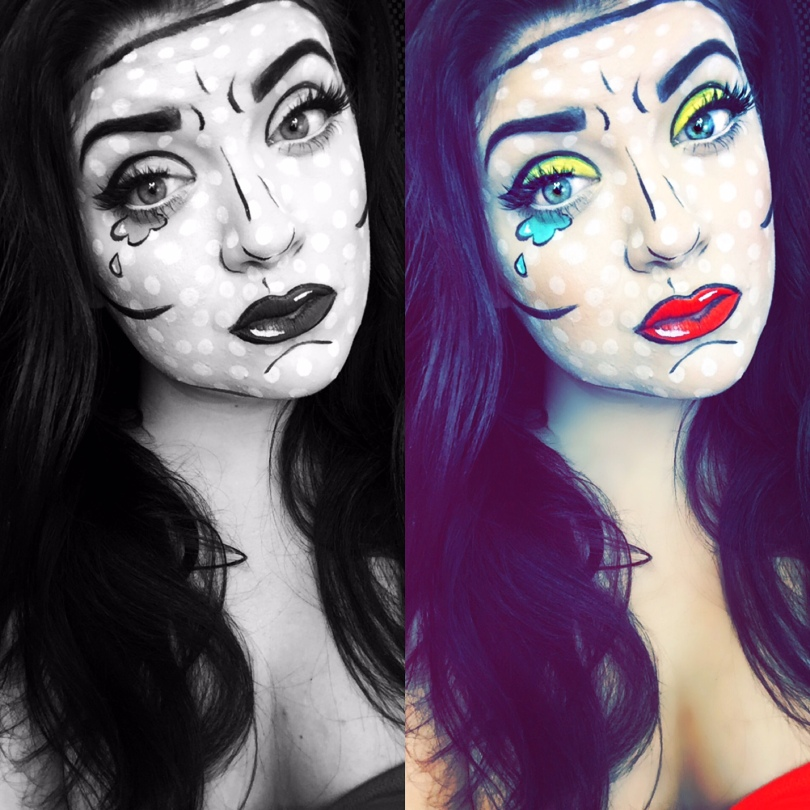 Comic Book | Pop Art Makeup Tutorial